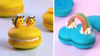 How To Make Colorful Macarons Decorating Ideas  So Yummy Perfect Macarons Recipes  Yummy Dessert