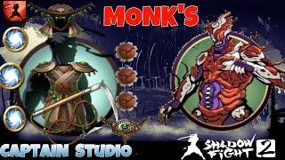 SHADOW FIGHT 2 RAIDS - FUNGUS MONK'S SET + KUSARIGAMA