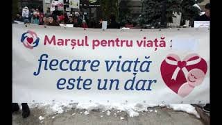 "Marsul pentru VIATA 2018 de la Campina (Prahova) vazut de ""deinteres.org"""