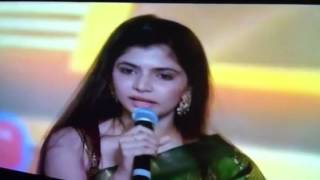 Cover images Chinmayi Best Playback Singer ( SIIMA 2012 )