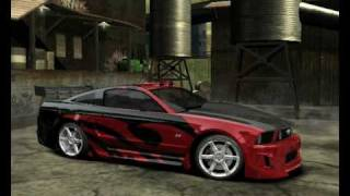 Need for Speed™ Most Wanted Mia,Ronnie,Razor And Rog Cars