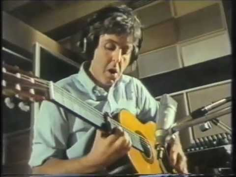 """Paul Mccartney & George Martin """"Does Anybody Know What The Title Of This Tune?"""""""