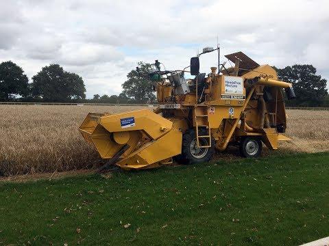 World's first harvest by autonomous combine