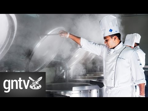 A look inside the Dubai World Trade Center production kitchens