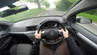 Astra H POV Test Drive Uk Country Roads