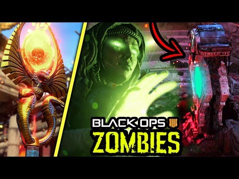 NEW BO4 ZOMBIES GAMEPLAY TRAILER BREAKDOWN: PACK A PUNCH, STAFF, PERKS & MORE! (Black Ops 4 Zombies)
