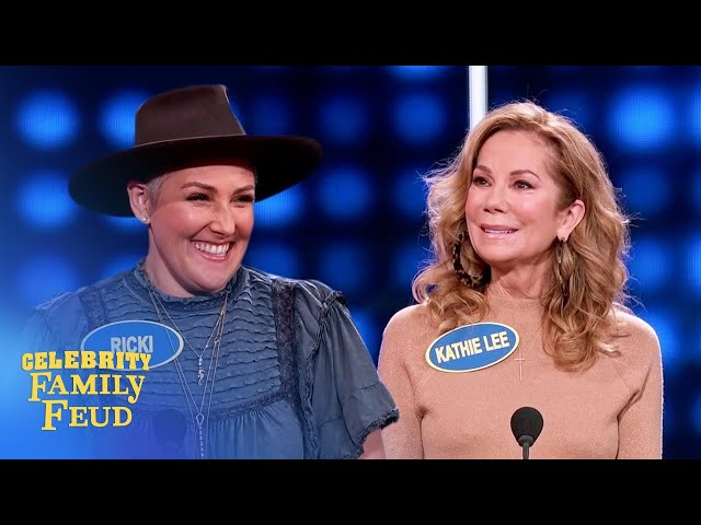 Queens of daytime TV clash! It's Kathie Lee Gifford vs. Ricki Lake! | Celebrity Family Feud