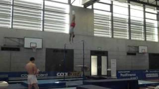 Jeffrey Wammes, 2010 Swiss Cup high bar training