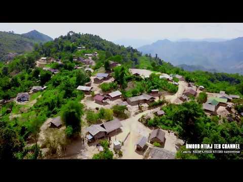 Zos Hmoob Tsua Tho Zos Toj Siab Chaw Tshua Around The Hmong Old Village Of Laos By Drone Mavic Pro