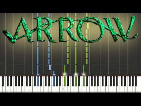 Arrow - Main Theme | Piano Tutorial + Sheets