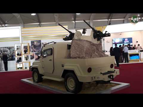 SOFEX 2018 KADDB armoured vehicles and artillery systems Jordan defense industry