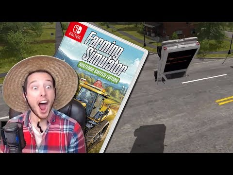 How NOT To Be A Farmer | Farming Simulator: Nintendo Switch Edition