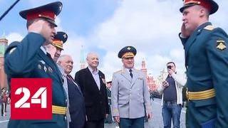 В Москве вручили дипломы выпускникам военных вузов