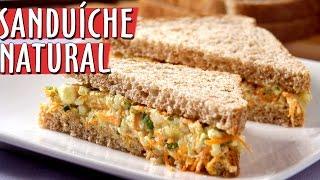 Como Fazer Sanduíche Natural | Práticas | #MINICOZINHA