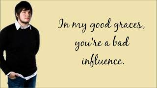 Good Graces, Bad Influence - The Spill Canvas