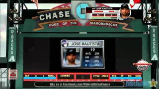 MLB 2K11 - Home Run Derby - Round 1 - Jose Bautista - 3rd At-Bat