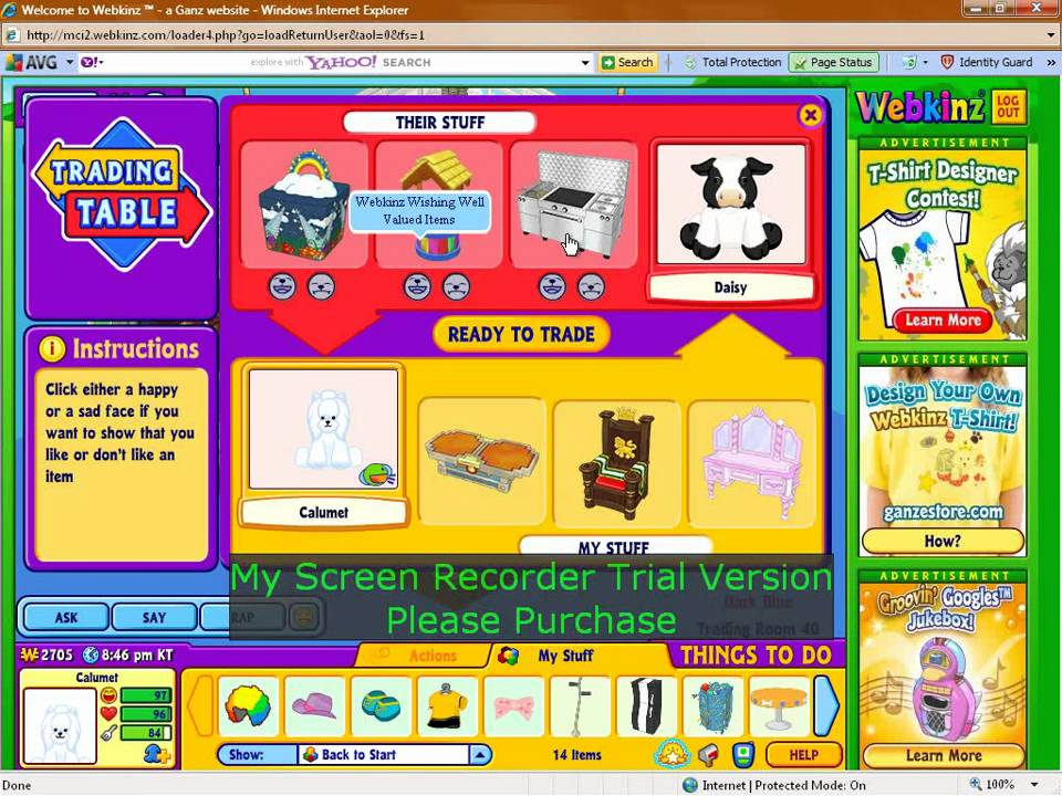 In the webkinz trading room youtube in the webkinz trading room sciox Choice Image