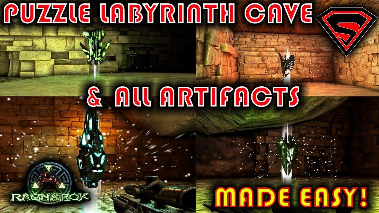 Ark Cave Walkthrough