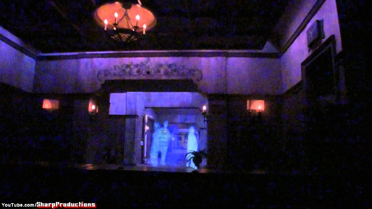 Tower of Terror (On Ride) Disney's Hollywood Studios ... Tower Of Terror Disney World Inside Video