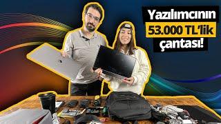 Yazılımcı Ayhan'ın 53.000 TL'lik çantasında ne var? İnşallah çalınmaz 😅