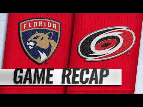 Brian Taylor - The recap of 'Canes Friday Night Win Over Panthers