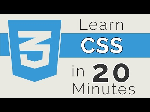 Learn CSS in 20 Minutes