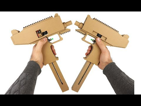How To Make Uzi - Cardboard X2 from YouTube · Duration:  7 minutes 51 seconds