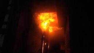 """بالفيديو   شهود عيان: حريق الموسكي مسئولية """"الحماية المدنية"""""""