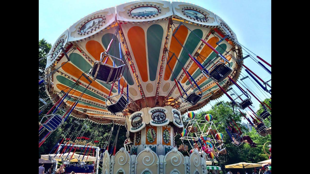 Victorian Gardens Central Park Amusement Park Wollman Rink 2016 Youtube