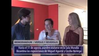 Presentación exposición Cecilia Noriega y Miguel Aguirre