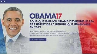 Fransızlar Obama'yı başkan olarak görmek istiyor