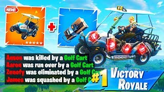 The BEST *C4* GOLF CART STRATEGY in Fortnite Battle Royale