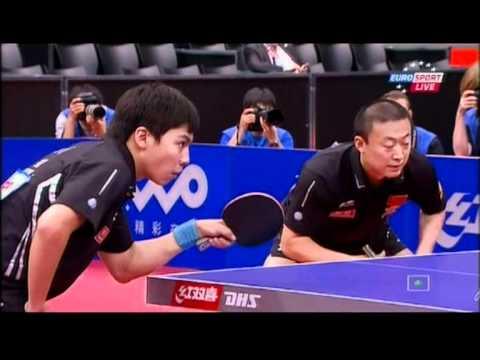 FINAL TWO MAN: Ma Long & Xu Xin vs Chen Qi & MALin