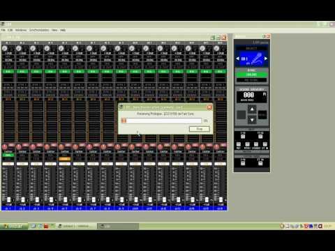 Configurando Studio Manager Yamaha LS9/M7CL