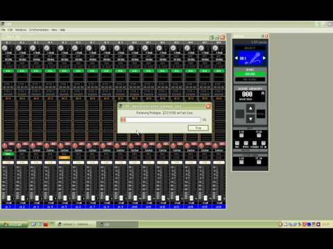Configurando Studio Manager Yamaha Ls9 M7cl