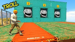 GTA 5 Online Parkour - MEGA TROLL PARKOUR