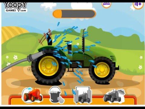 Игра Трактор мания, парковка онлайн Tractor parking mania