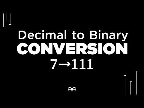 decimal-to-binary-conversion- -geeksforgeeks