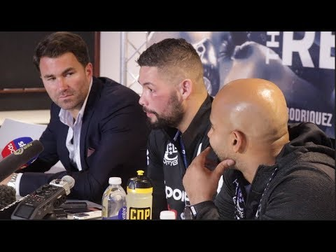 TONY BELLEW v DAVID HAYE (FULL & COMPLETE) POST FIGHT PRESS CONFERENCE W/ EDDIE HEARN & COLDWELL