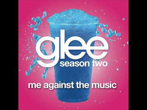 Me Against the Music - Glee Cast Version [Full HQ Studio]