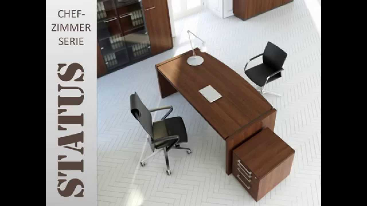 Günstige Chefzimmer Büromöbel mit Montage 2 Wochen Lieferzeit - YouTube