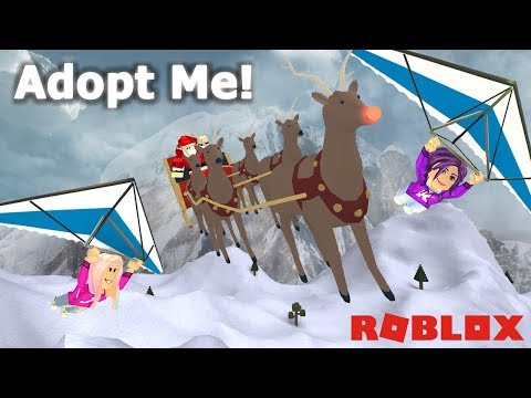 HERE COMES SANTA CLAUS! 🎅 / Roblox: Adopt Me Christmas Edition