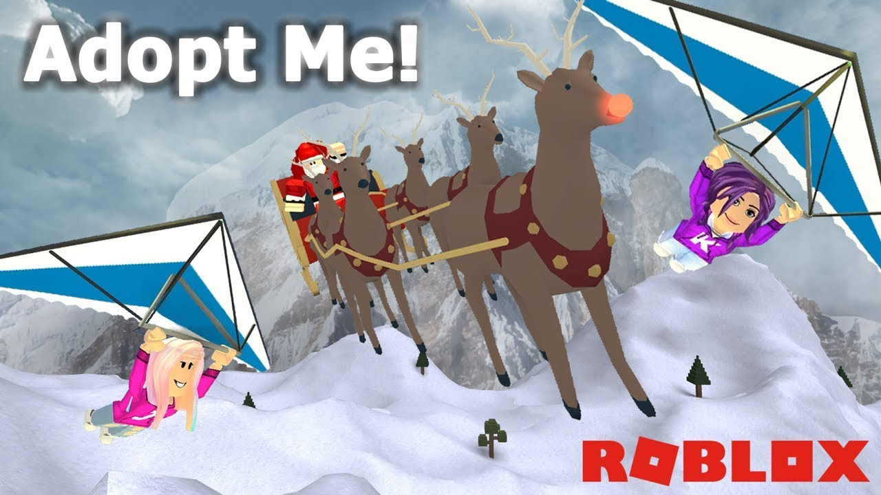 Here Comes Santa Claus Roblox Adopt Me Christmas Edition Youtube