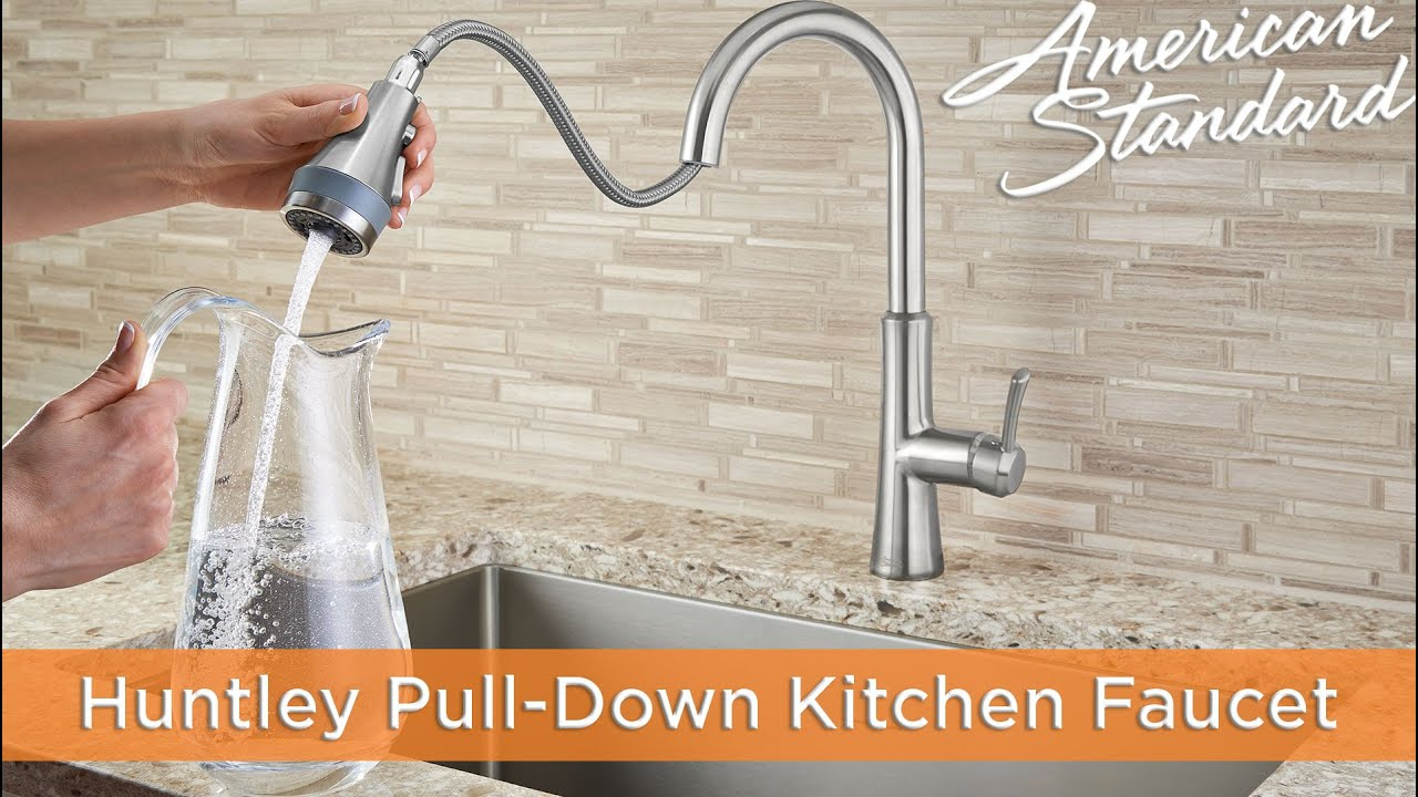 Huntley SelectFlo Pull-Down Kitchen Faucet by American Standard ...