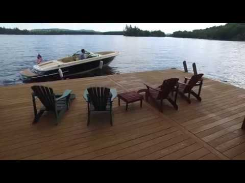 Waterfront Property For Sale on Fourth Lake | Adirondack Camp For Sale