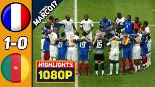 Франция Камерун 1 0 Обзор Матча Финал Кубок Конфедераций 29 06 2003 HD