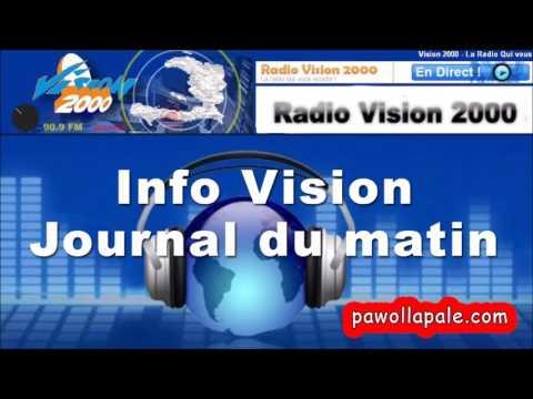 Vendredi 19 Mai 2017 - Info Vision :  Journal du matin sur Radio Vision 2000