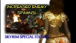 Skyrim Special Edition Mods | TRIPLE The Enemy Population With This Mod!