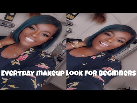 easy everyday makeup for beginners  youtube