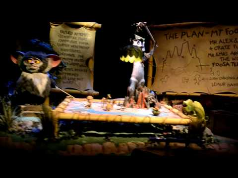 Madagascar: A Crate Adventure Front Seat on-ride POV Universal Studios Singapore